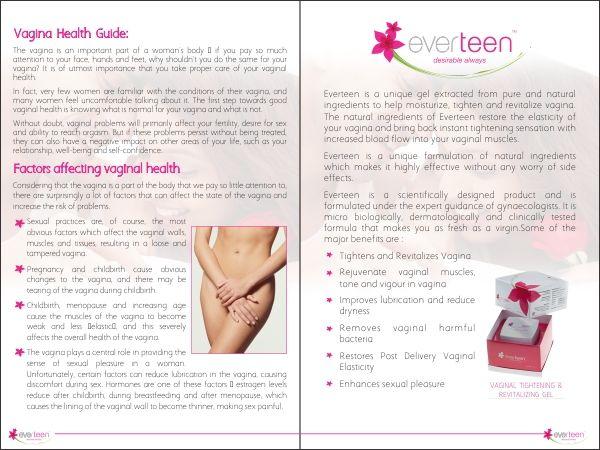 Leaflet inside pages