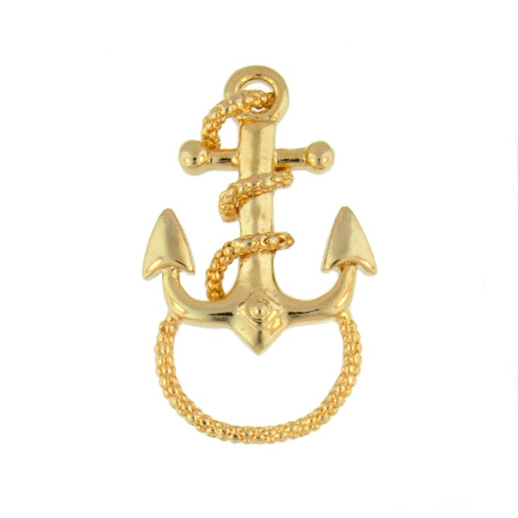Super cute nautical anchor brooch, a classy & elegant accessory for any outfit! Now on clearance for only $5