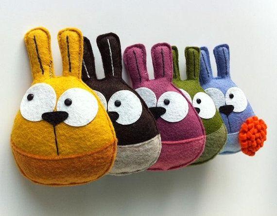 Oh Sweet BunnyMe, l'original Eco broche (couleur au choix)