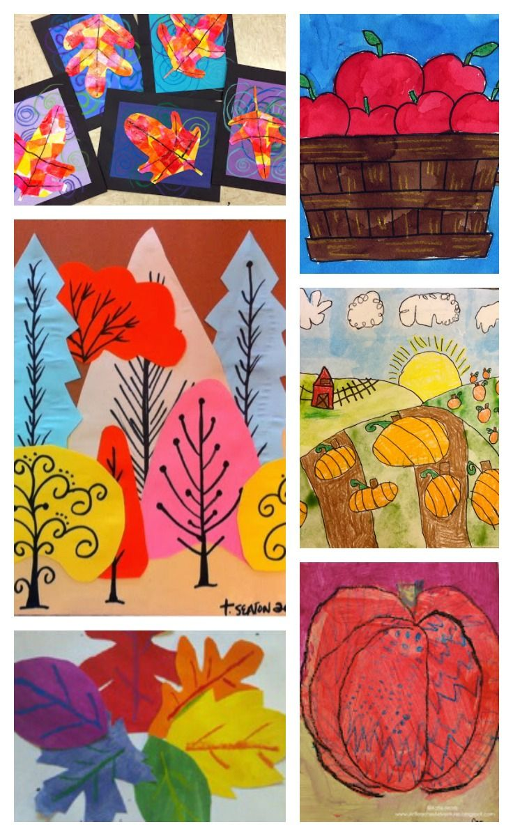 12 Amazing Fall Art Projects to Try Right Now - Hand Made Kids Art