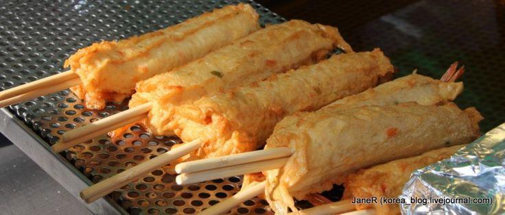 Уличная еда в Корее (14)