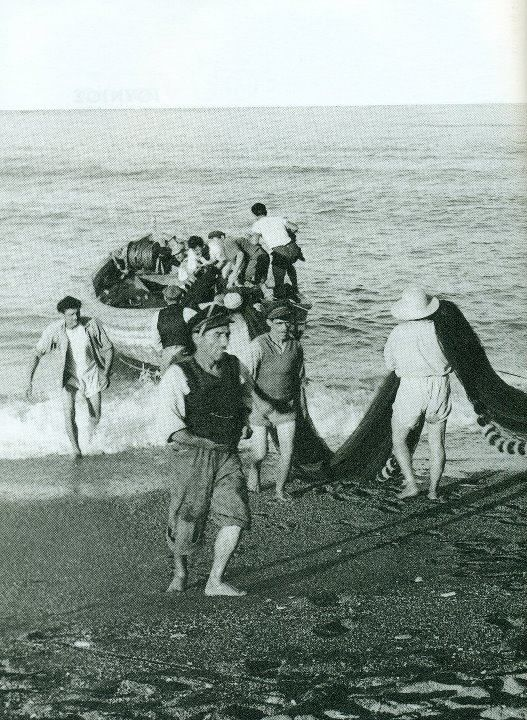 1950 ~ Fishing in Agiokampos, Larissa