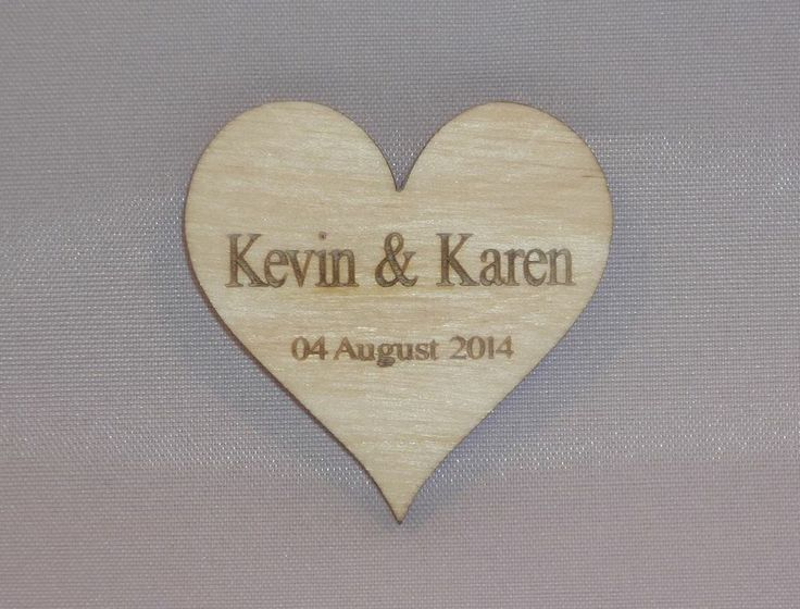 WOODEN HEART SHAPE TABLE DECORATIONS, WEDDING DECORATIONS RUSTIC WEDDING FAVOURS