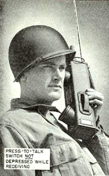 Walkie talkie invented by Canadian and valuable tool for allies in WWII