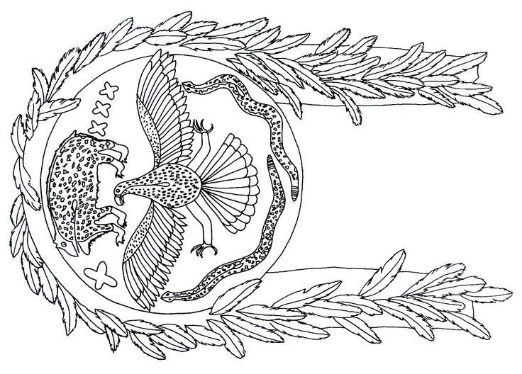 a shield symbol from the zuni pueblo indians printable coloring book page - Native American Coloring Book