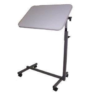 $48.10 (CLICK IMAGE TWICE FOR UPDATED PRICING AND INFO)  MedMobile Tilt Top Hospital Overbed/Over Bed Top Table Computer Laptop Table. See More Over Bed Hospital Tables at http://www.zbuys.com/level.php?node=3941=over-bed-hospital-tables