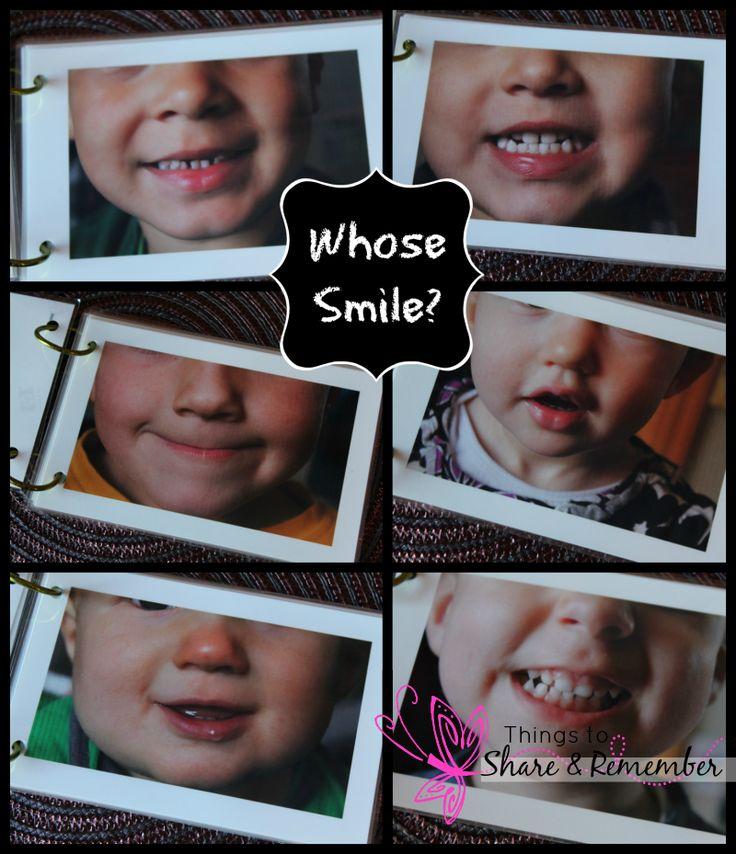 preschool dental theme homemade smile books