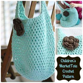 Daisy Cottage Designs: Free Market Tote Crochet Pattern