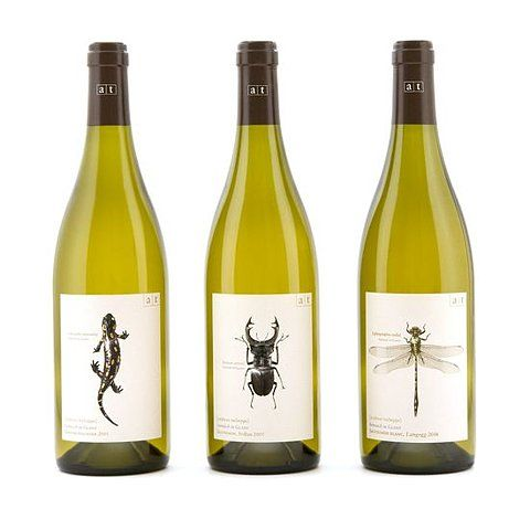 @Mehdi Here's some more critters for you on this #wine #packaging PD