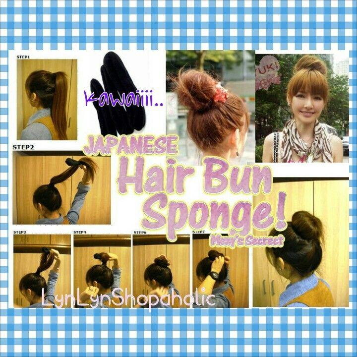 Hairbun sponge