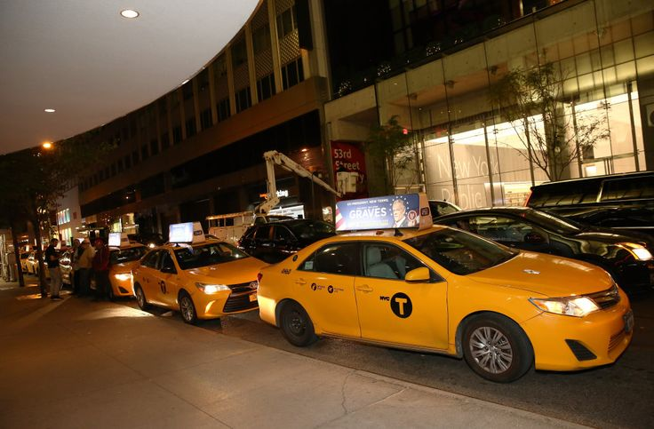 New York taxi union declares work stoppage in protest of Donald Trump's Muslim ban