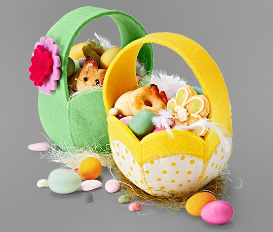 Košíky na veľkonočné vajíčka, 2 ks