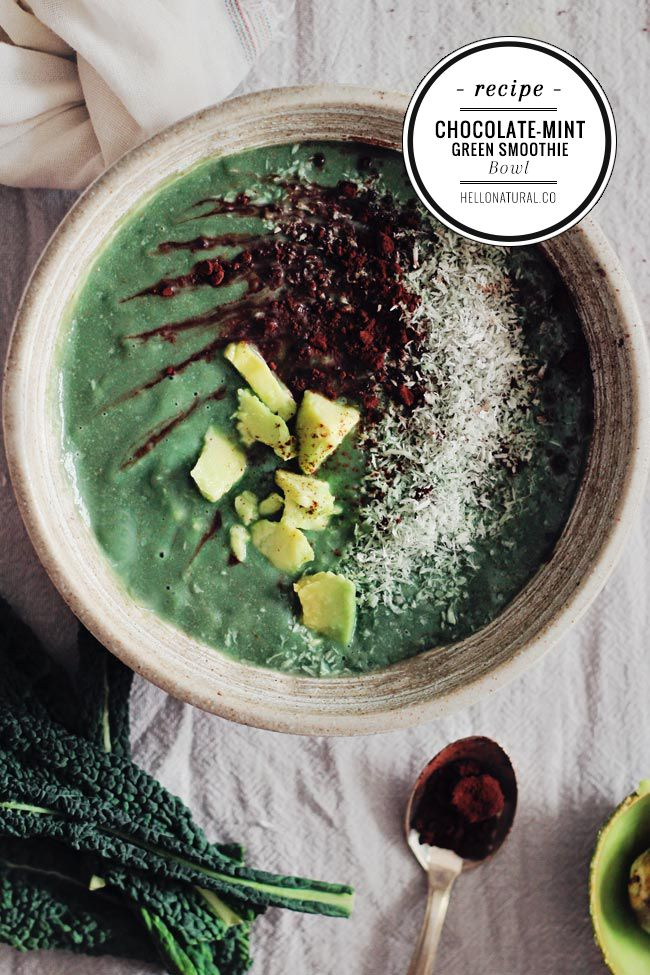 ... Chocolates Mint, Healthy Recipes, Chocolate Mint Green, Smoothie Bowls