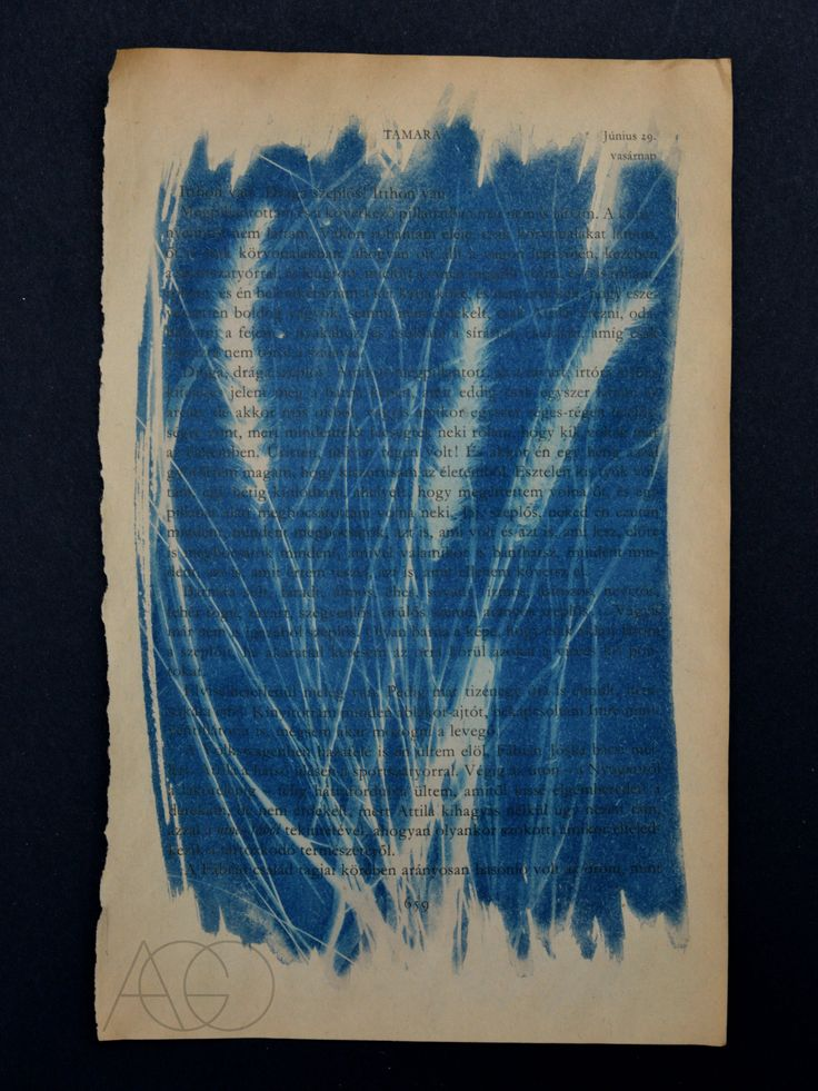 #cyanotype #blueprint #sunprint #photography #alternativephotography #alternetive #book #bookart