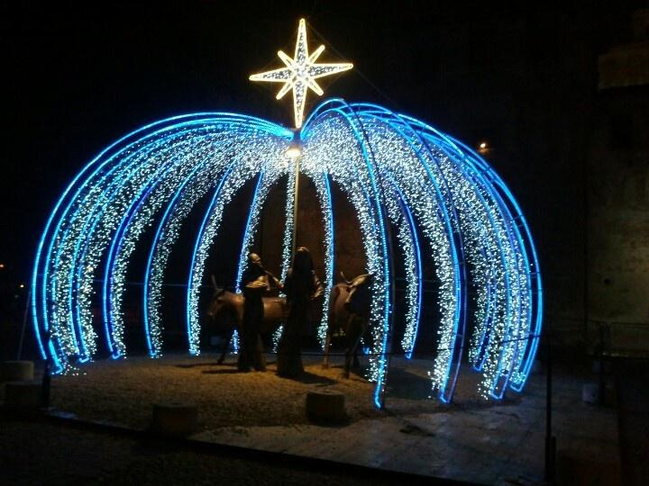 #Nativity Presepio in Piazza della Rocca a #Cento