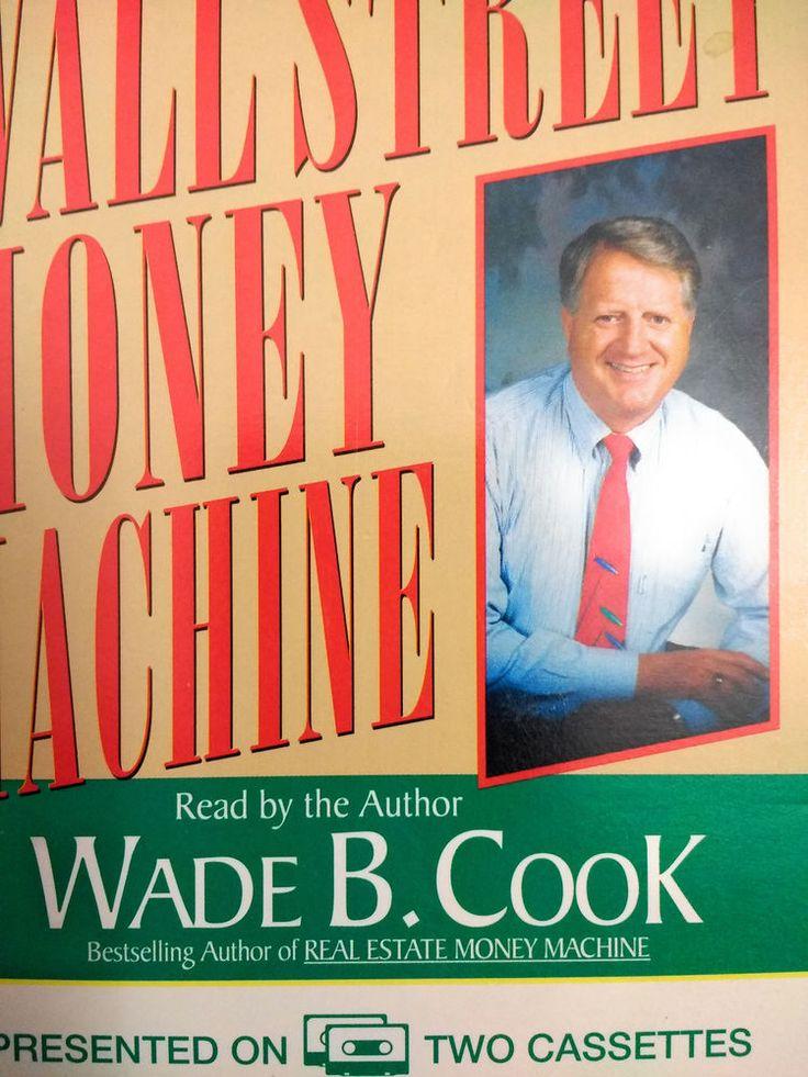Wall Street Money Machine Wade B. Cook Audiobook on 2 cassettes