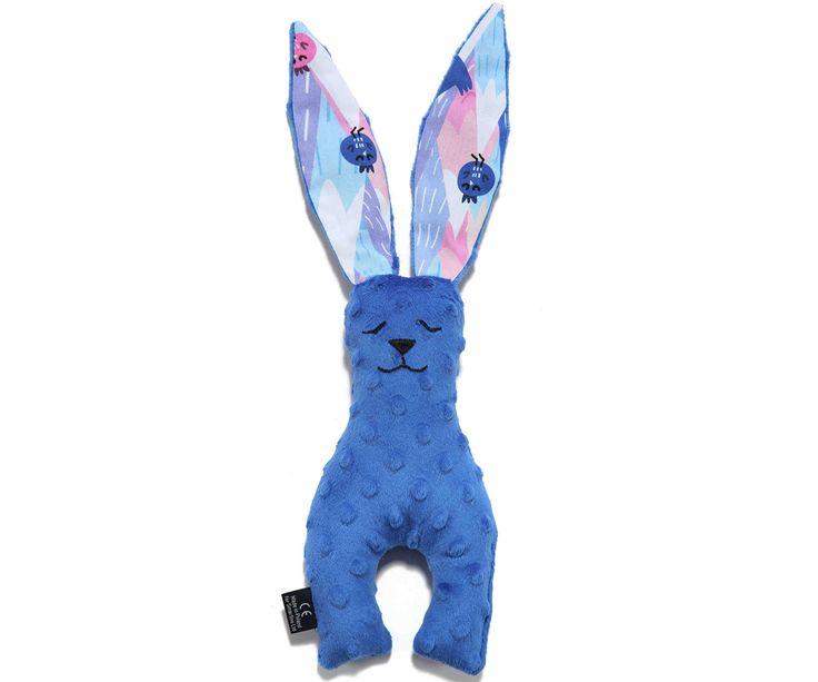 Small Bunny Electric Blue - Mili Vanili παιχνιδάκι λαγουδάκι