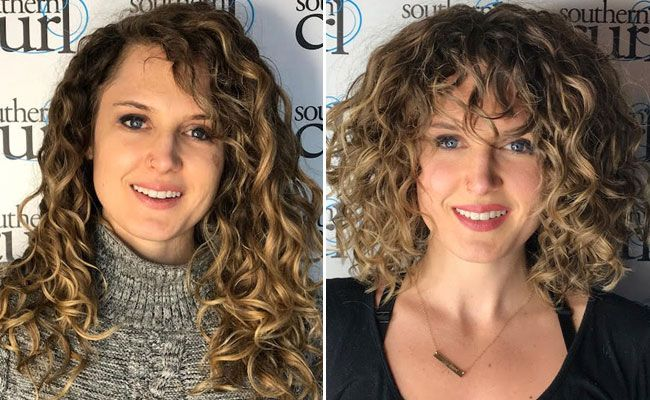 25 Photos That Will Make You Want Curly Bangs Curly Hair Styles Curly Bangs Thick Curly Hair
