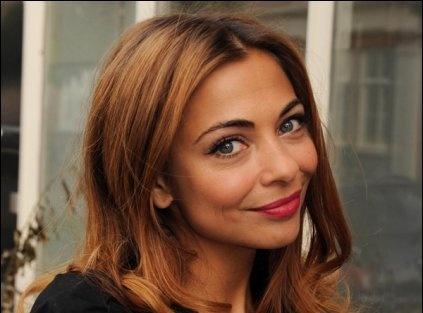 Georgina Verbaan, onderschat actrice vind ik, dierenliefhebster. Ik vind haar goed.