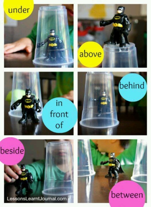 Great way to teach prepositions.
