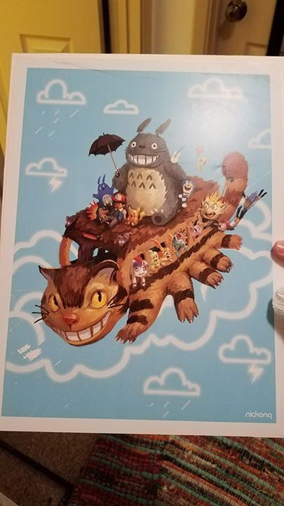 Does anyone know where I can purchase this poster? I originally found it at Seattle Comic Con or an art festival. I can't locate it online. This is the BEST !  ☺Like and Share this with your friends !  Follow us if you are Totoro fan !  see more in www.totoroshop.co    #totoro #ghibli #cute #love #life #anime #toys #gift #japan #fans #freeshipping #myneighbortotoro #girls #friends #korea #bestfriends #childhood #memories #bestmemories