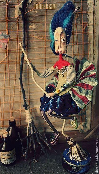 Коллекционные куклы ручной работы: Бабушка Дарёна. Handmade.