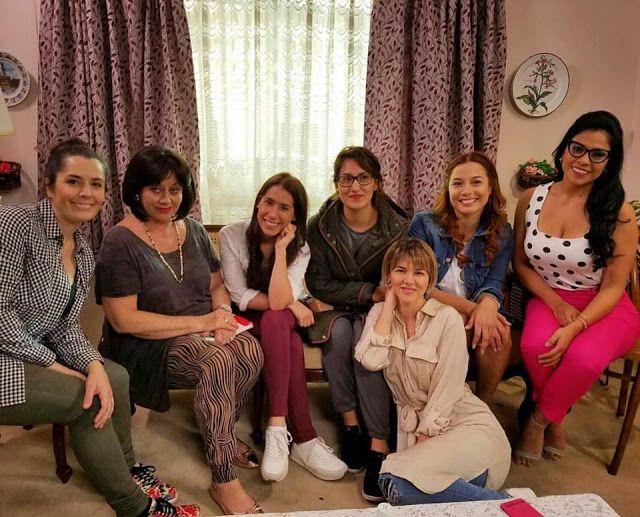 LIMA VAGA: Actriz mexicana Angélica Aragón se encuentra graba...