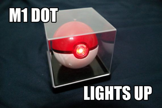 Pokemon Pokeball Toy Mod M1 DOT by ThePokeballProject on Etsy