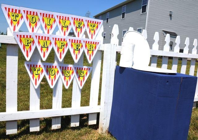 Backyard Carnival with Vintage Twist Birthday Party Ideas