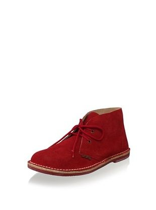 61% OFF W.A.G. Kid's Suede Boot (Red)