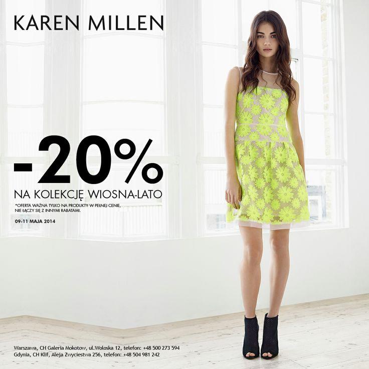 #glamour #galeriamokotow #fashion #shopping #moda #zakupy #sale #Galmok #karenmillen @Karen Jacot Millen