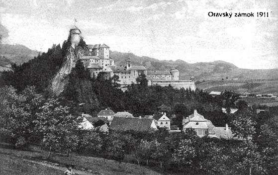 Orava Castle 1911
