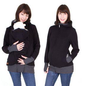 3 en 1 con chaqueta sudadera ropa maternidad cómoda chaqueta