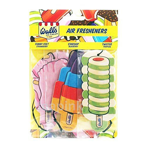 From 1.75 Car Air Fresheners Walls Ice Cream Twister Tropical Funny Feet Starship