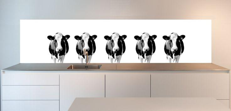 Moohhh... zegt: een koe! Wil jij deze koeien in jouw keuken? Bestel ze op SoWhat-design.com