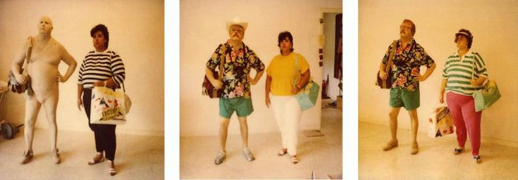 Duane Hanson – Turyści  HIPERREALIZM