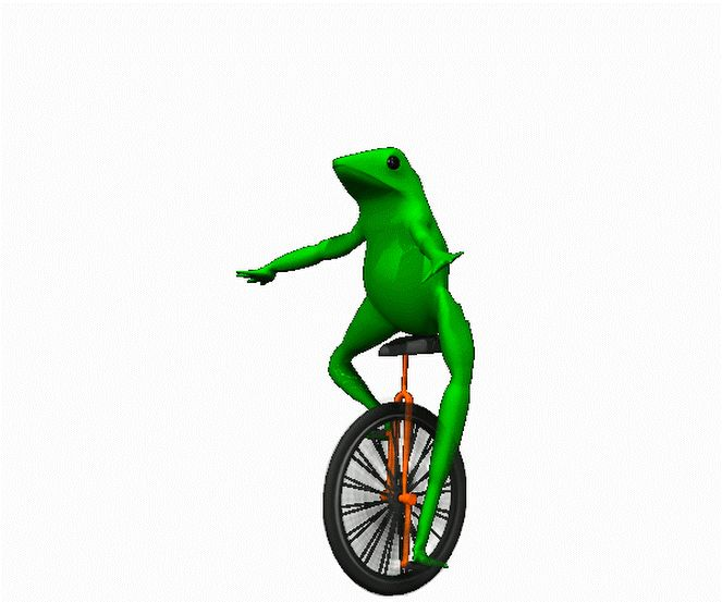 Animation Of The Day: Unicycle Frog January 07 2018 at 04:40AM