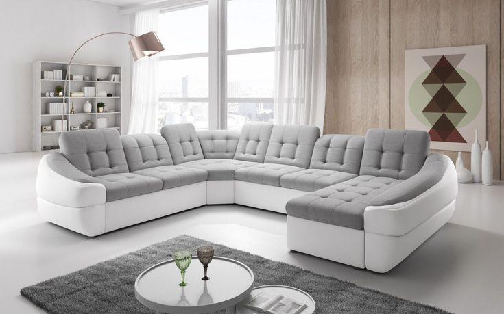Cele mai bune 25 de idei despre canape cuir d angle pe for Tapis de couloir avec canapé 2 places relax électrique tissu