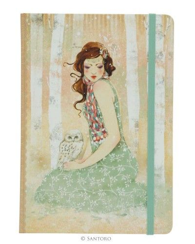 Willow Hardcover Notebook - Mademoiselle Snow