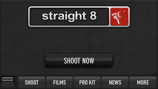 Straight 8 short