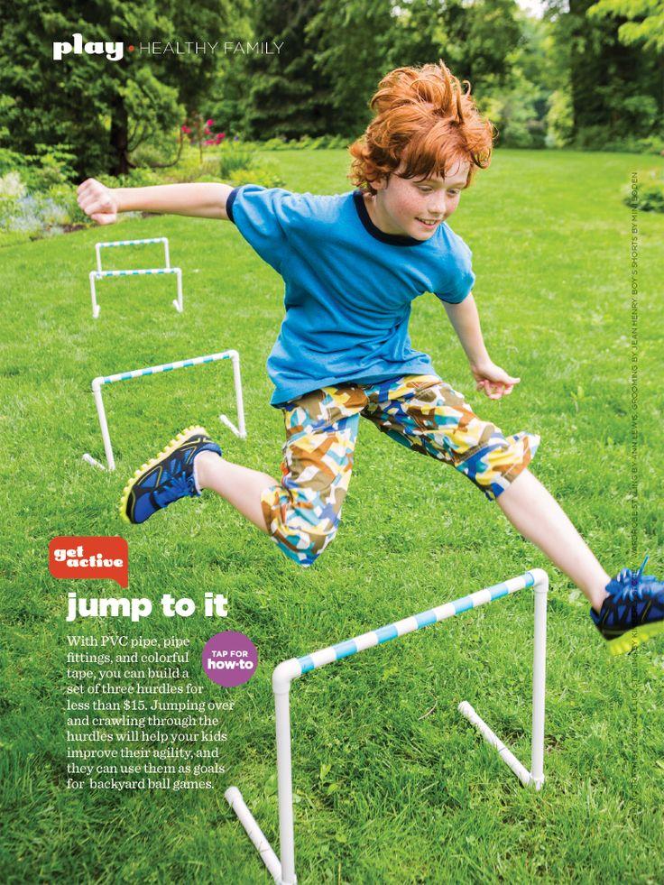 Running Hurdles Kids Activities Pinterest Running