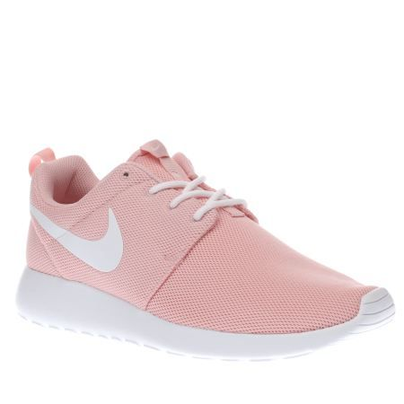 womens nike pale pink roshe one trainers