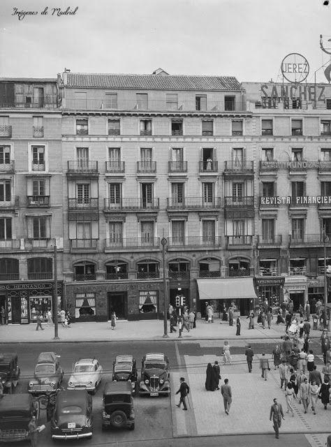 IMAGENES ANTIGUAS DE MADRID: LA PUERTA DEL SOL