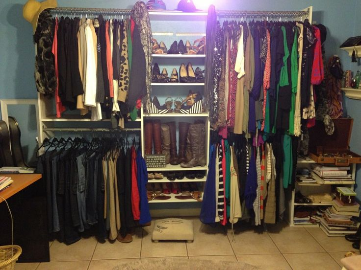 Turned My Spare Room Into A Closet :) | Apartment | Pinterest | Wardrobes,  Turning And Spare Room
