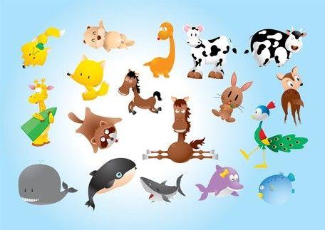 Ζώο κόμικς, εικόνες vector - Clipart.me