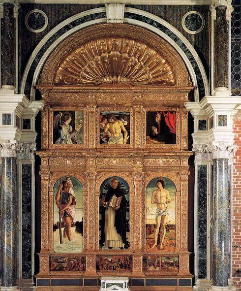 Polittico di San Vincenzo Ferrer (1464-1467 circa; Venezia, Santi Giovanni e Paolo)