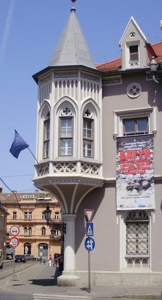 Princess room window in Szeged, Hungary