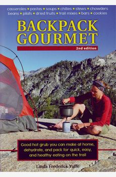 Linda Frederick Yaffe shares her experiences and knowledge of how to prepare nutritious meals on light weight backpacking stoves and cooking equipment, without sacrifice taste or nutrition. This is the second edition of this book, first published in 2002. This edition shows and feature newer equipment and a great variety of backpacking and trail travelers food that are now available.