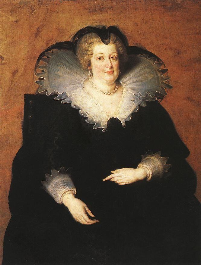Peter Paul Rubens. Marie de Medici, Queen of France.