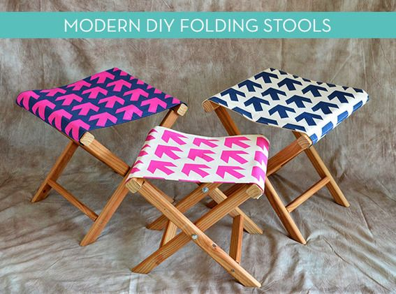 How To: Make a DIY Folding Camp Stool from Scratch » Curbly | DIY Design Community